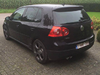 volkswagen golf standard back