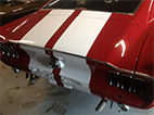 Mustang Red Finished Back 2