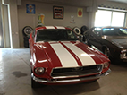 Mustang Red Finished Front