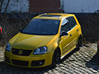 volkswagen golf finished front